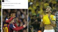 Lionel Messi le mandó un mensaje de apoyo a su amigo Neymar
