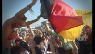 Joanna Boloña celebró junto a alemanes la clasificación a semis
