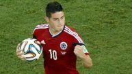 James, el segundo más joven en marcar seis goles en un Mundial