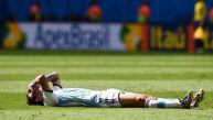 Argentina vs. Bélgica: un Di María frustrado salió del partido