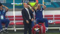 Argentina vs. Bélgica: el blooper del técnico Alejandro Sabella