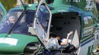 Neymar abandonó en helicóptero la concentración de Brasil