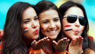 Holanda vs. Costa Rica: europeos ganan el duelo en las tribunas