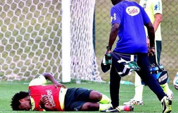 Uno más: Willian salió sentido en entrenamientos de Brasil