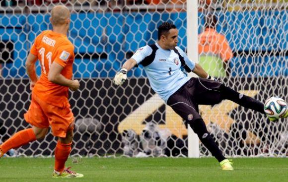 Holanda venció 4-3 a Costa Rica en penales y pasa a semis