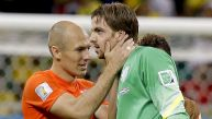 Holanda vs. Costa Rica: igualan 0-0 en Mundial Brasil 2014