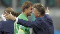Krul, el ataja penales de Van Gaal:
