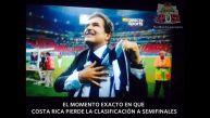 Memes de la eliminación de Costa Rica del Mundial Brasil 2014
