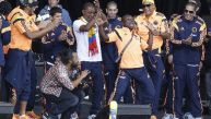 Colombianos bailaron a ritmo de salsa en recibimiento en Bogotá