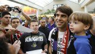 Kaká espera el título de Brasil para borrar tristeza por Neymar