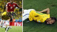 FIFA no sancionó a Zúñiga, jugador que lesionó a Neymar