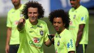 Brasil entrenó escondiendo al reemplazante de Neymar