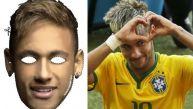 Brasil vs. Alemania: promueven campaña con máscara de Neymar
