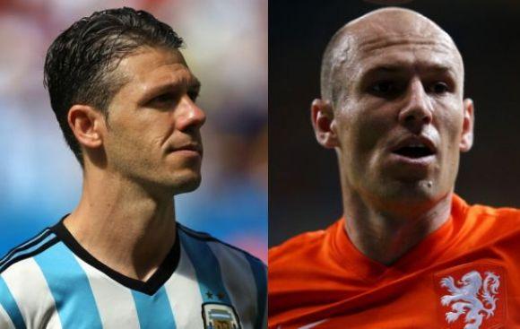 """La fórmula argentina para anular a Robben: """"Hay que rasparlo"""""""