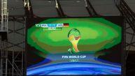 Brasil vs. Alemania: tablero del Mineirao 'vaticina' un 1-1