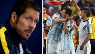 Diego Simeone cree en Argentina: