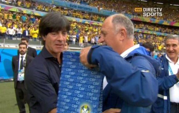 Brasil vs. Alemania: ¿Qué le regaló Scolari a Joachim Löw?