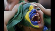Brasil vs. Alemania: llanto y decepción en la hinchada local