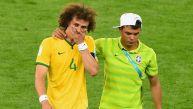 Brasil vs. Alemania: el llanto de los jugadores brasileños