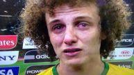 """David Luiz, derrumbado: """"Quería ver a la gente sonreír"""""""