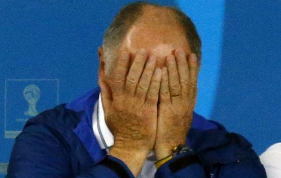 """Luiz Felipe Scolari: """"Este es el peor día de mi vida"""""""