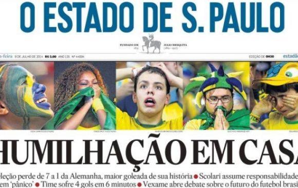 """Prensa brasileña: """"humillación, vergüenza, indignación"""""""