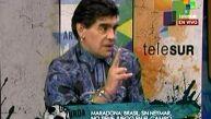 Maradona se burla de Brasil: