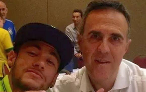 Agente de Neymar y sus durísimas palabras contra Scolari