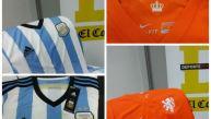 Sepa cómo ganar las camisetas oficiales de Holanda o Argentina