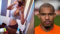 Esposa de Nigel De Jong motiva así a Holanda ante Argentina