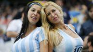 Holanda vs. Argentina: las hinchas más bellas en Sao Paulo