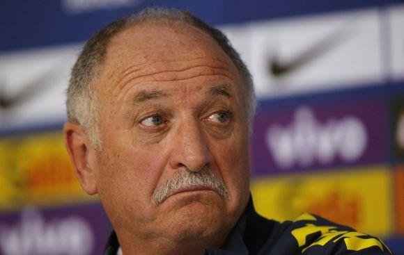 Luiz Felipe Scolari por el momento no piensa en renunciar