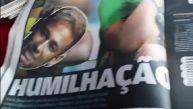 Diarios brasileños y el reporte tras un día catastrófico