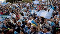 Así se celebró en Buenos Aires la clasificación de Argentina