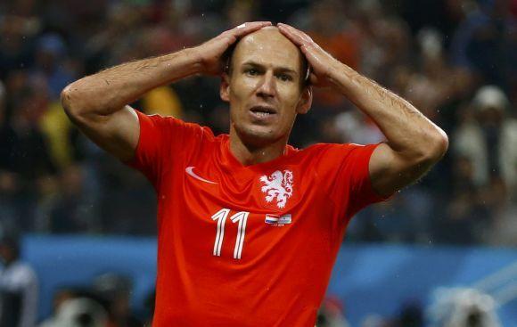 "Arjen Robben: ""Estoy decepcionado con la derrota"""