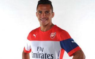 Alexis Sánchez jugará en el Arsenal, oficializó el club inglés