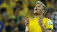 Así sufrió Neymar la goleada de Alemania sobre Brasil por 7-1