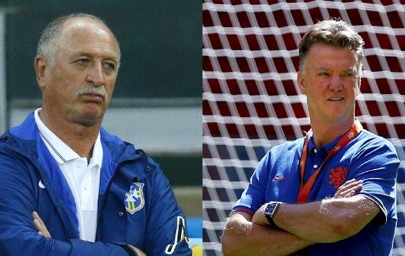 Scolari y Van Gaal: así analizan el duelo por el tercer puesto
