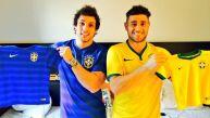Así fue el paseo mundialista de Nicola y Yaco por Brasil