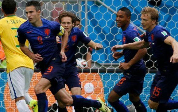 Holanda goleó 3-0 a Brasil por el tercer lugar del Mundial