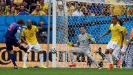 Brasil vs. Holanda: el gol que tranquiliza a los tulipanes
