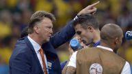 Louis van Gaal y sus últimos gestos como entrenador de Holanda
