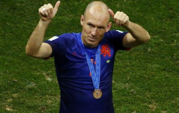 ¿Qué dijo Robben tras ser tercero en el Mundial de Brasil 2014?