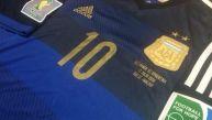 Argentina y un uniforme con el cual no han perdido en Mundiales