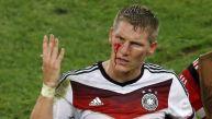 Schweinsteiger dejó la sangre y el alma en la final