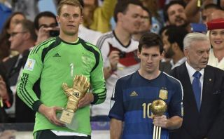 Neuer tuvo mejor porcentaje de pases exitosos que Messi