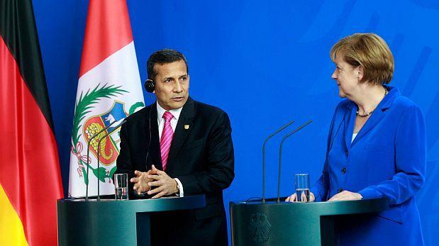 Humala y Merkel quieren un acuerdo climático global vinculante
