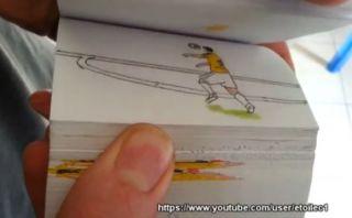 Cinco mejores goles del Mundial recreados en animación a lápiz