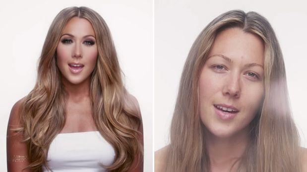 Mira a esta cantante transformarse y mostrar su belleza natural