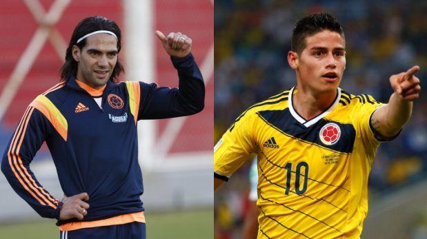 Radamel Falcao y James Rodríguez reaparecerían este domingo